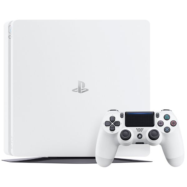 Sony PlayStation 4 Slim 500Gb White, картинка 2