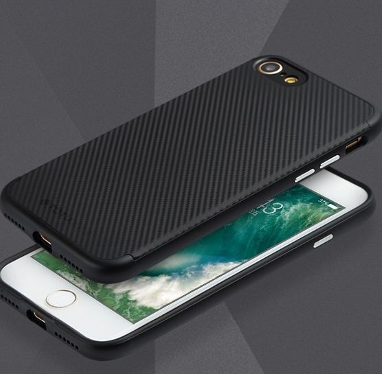TOTU iPhone 7 Case Pattern Series - Black, картинка 3