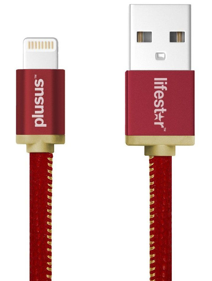 Plusus LifeStar Lightning Cable 1m - Ruby Sunset, картинка 1