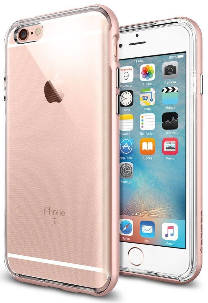SGP iPhone 6S Neo Hybrid EX - Rose Gold