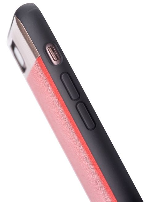 Cooma iPhone 7 Vivid Leather Case - Red, картинка 3