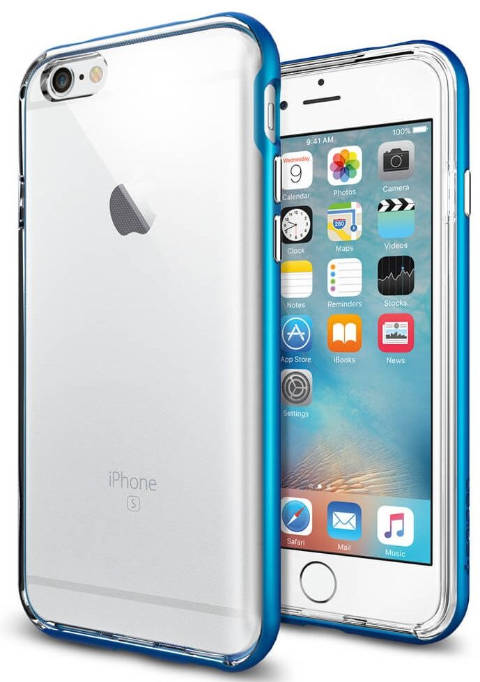 SGP iPhone 6S Neo Hybrid EX - Blue
