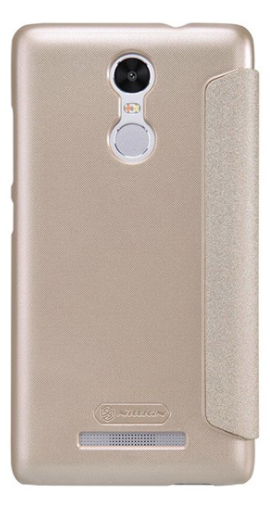 Nillkin Sparkle Leather case Xiaomi Note 3 - Gold, картинка 2