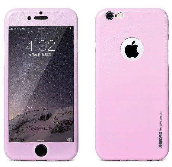 REMAX iPhone 6/6S Apple Skin - Pink