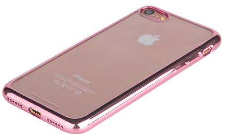 VIVA iPhone 7 Metalico Flex Case TPU Pink, картинка 4