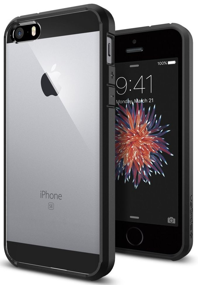SGP  iPhone 5S/SE Ultra Hybrid - Black