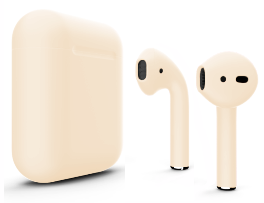 Apple AirPods (MMEF2ZA/A) Gold, картинка 2