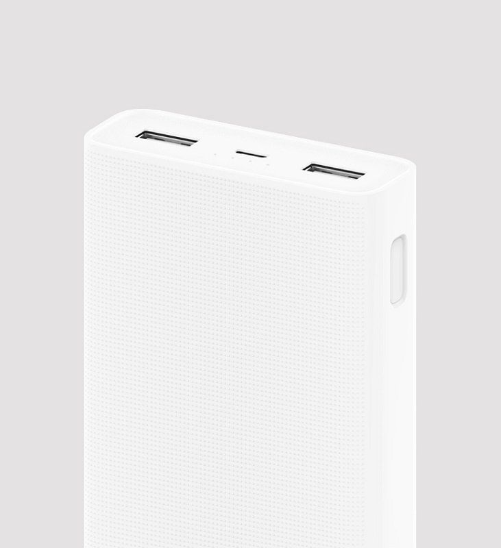 XiaoMi Power Bank 2 20000mAh - White, картинка 3