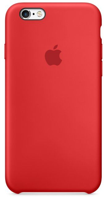 Apple iPhone 6/6S Silicone Case - Red