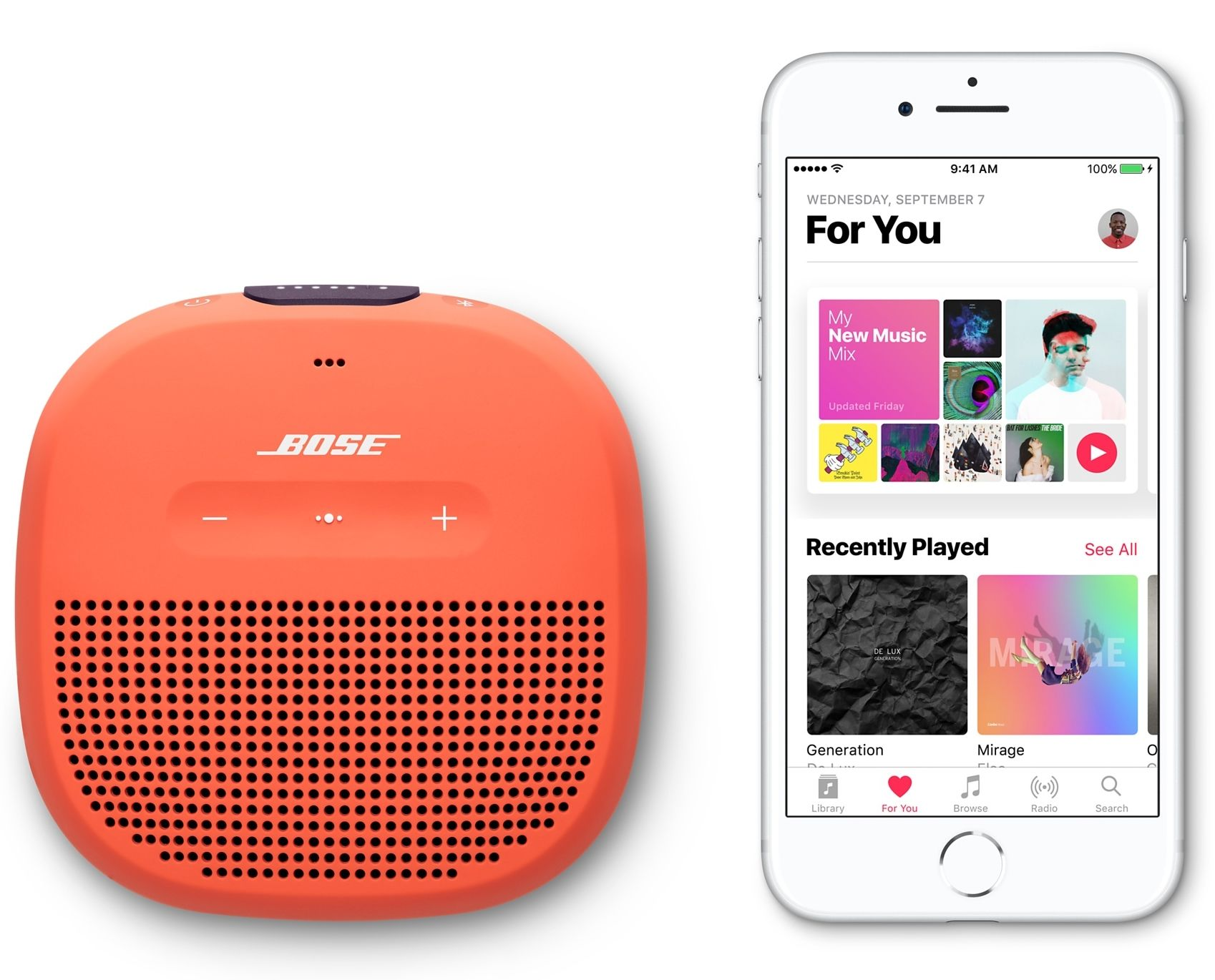 BOSE SoundLink Micro - Orange, картинка 6