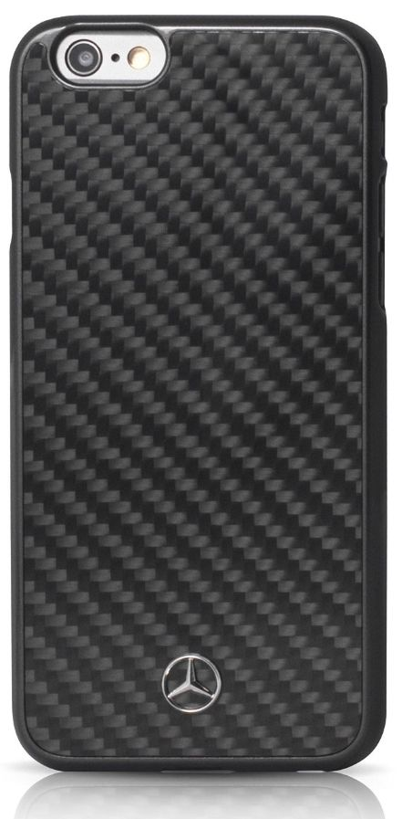 Mercedes Dynamic iPhone 7 Real Carbon Hard Case Black, картинка 1