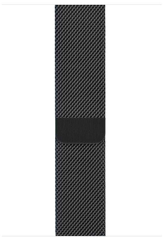 Apple Watch S3 (GPS+LTE) 42mm Space Black Stainless Steel Case/Space Black Milanese Loop (MR1L2), картинка 3