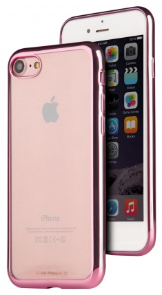 VIVA iPhone 7 Metalico Flex Case TPU Pink, картинка 1