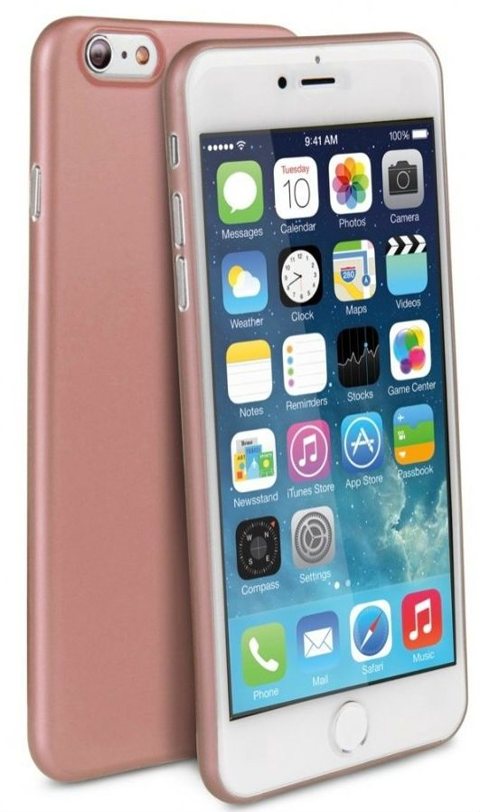 Чехол Uniq Bodycon iPhone 6 Ultra Slim 0.3 - Rose Gold