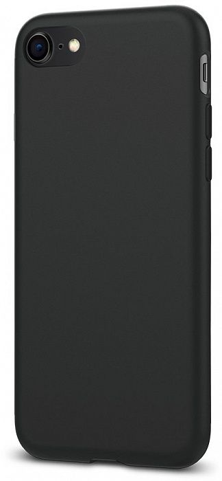 SGP Чехол iPhone 7 Liquid Crystal Matte Black