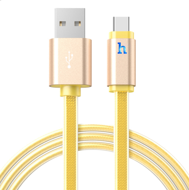 HOCO UPL12 Lightning Cable 120cm - Gold