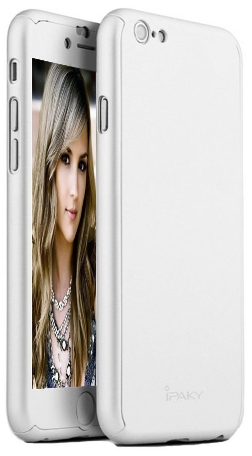 iPacky iPhone 6S Plus Case - Silver