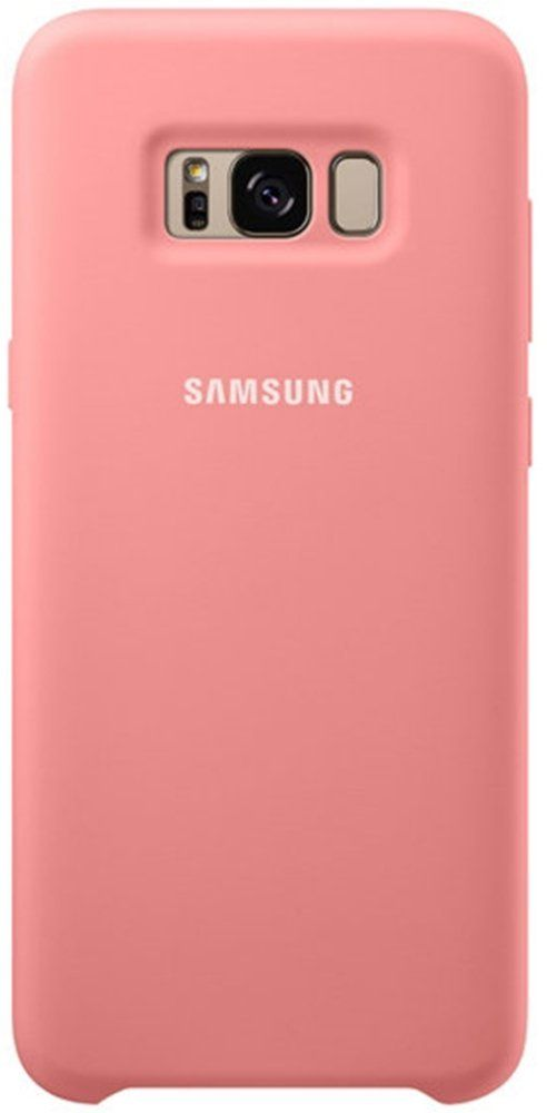 Чехол  Samsung Galaxy S8+ Silicone Cover - Pink
