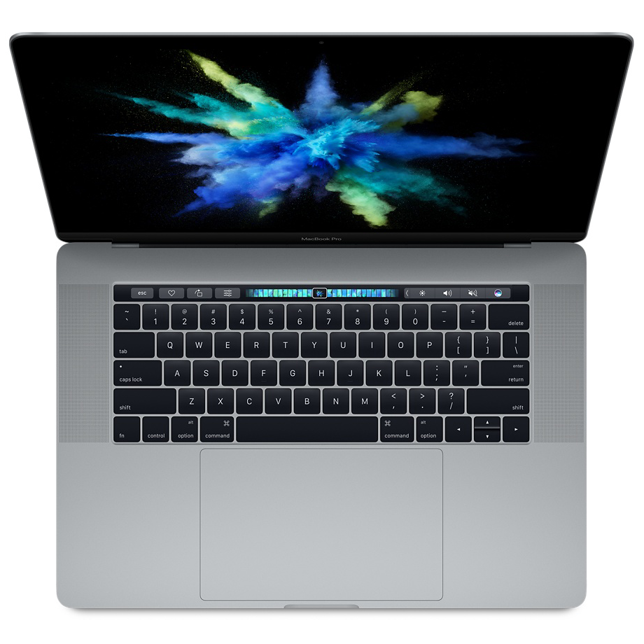 "Apple MacBook Pro 15""  Touch Bar 256GB Space Gray (MLH32), картинка 1"