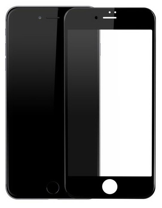 DEVIA 3D Tempered Glass iPhone 8 Plus - Black