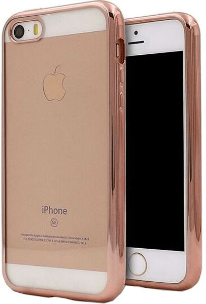 Takeit iPhone 5S/SE Metal Slim - Rose Gold, картинка 1