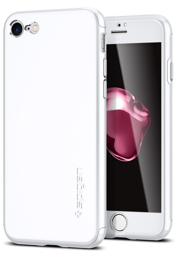 SGP Чехол iPhone 7 Air Fit 360 White
