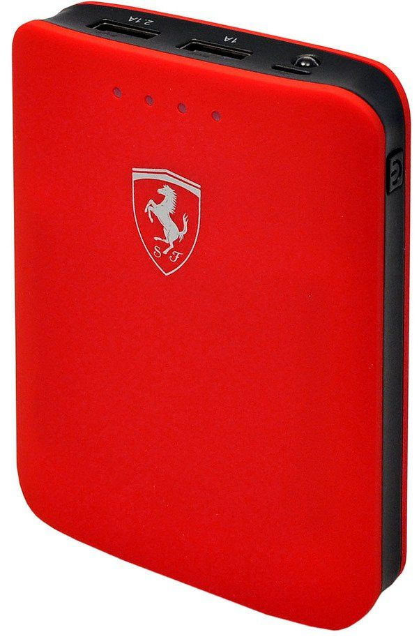 Ferrari Portable Charger 10400 mAh - Red