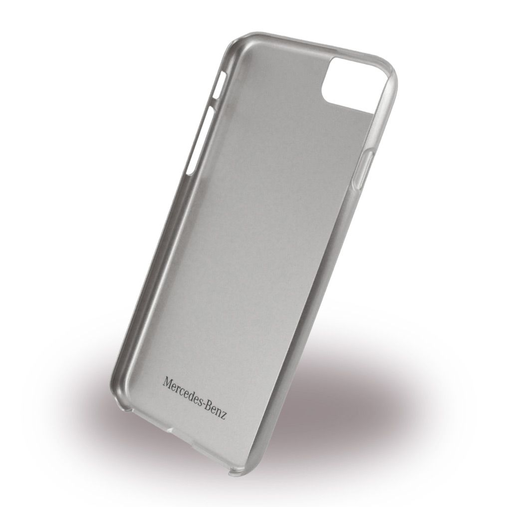 Mercedes WAVE VIII iPhone 7 Brushed Aluminum Hard Case Silver, картинка 2