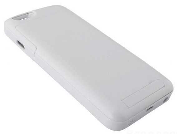 MiraCharge iPhone 6 Battery Case 3500mA - White, картинка 1