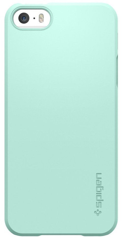 SGP  iPhone 5S/SE Thin Fit Mint, картинка 2