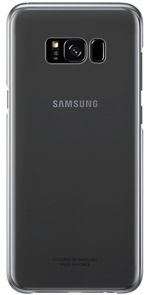Samsung Galaxy S8+ Clear Cover - Black, картинка 1