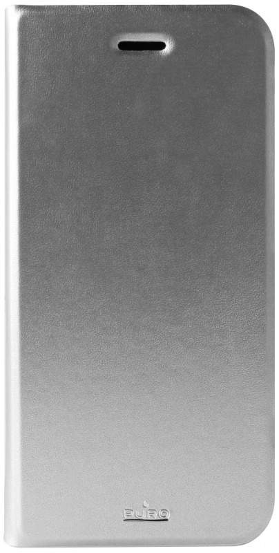 Puro Bookcase iPhone 6 Plus - Silver, картинка 1