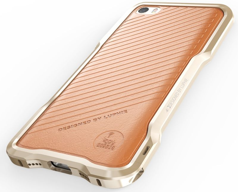 Luphie iPhone 5S/SE Bumper - Gold, картинка 5