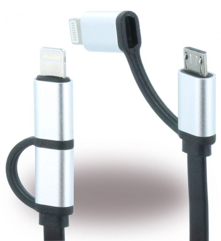Mercedes Charge Cable 2-1 Lightning and micro USB, картинка 2