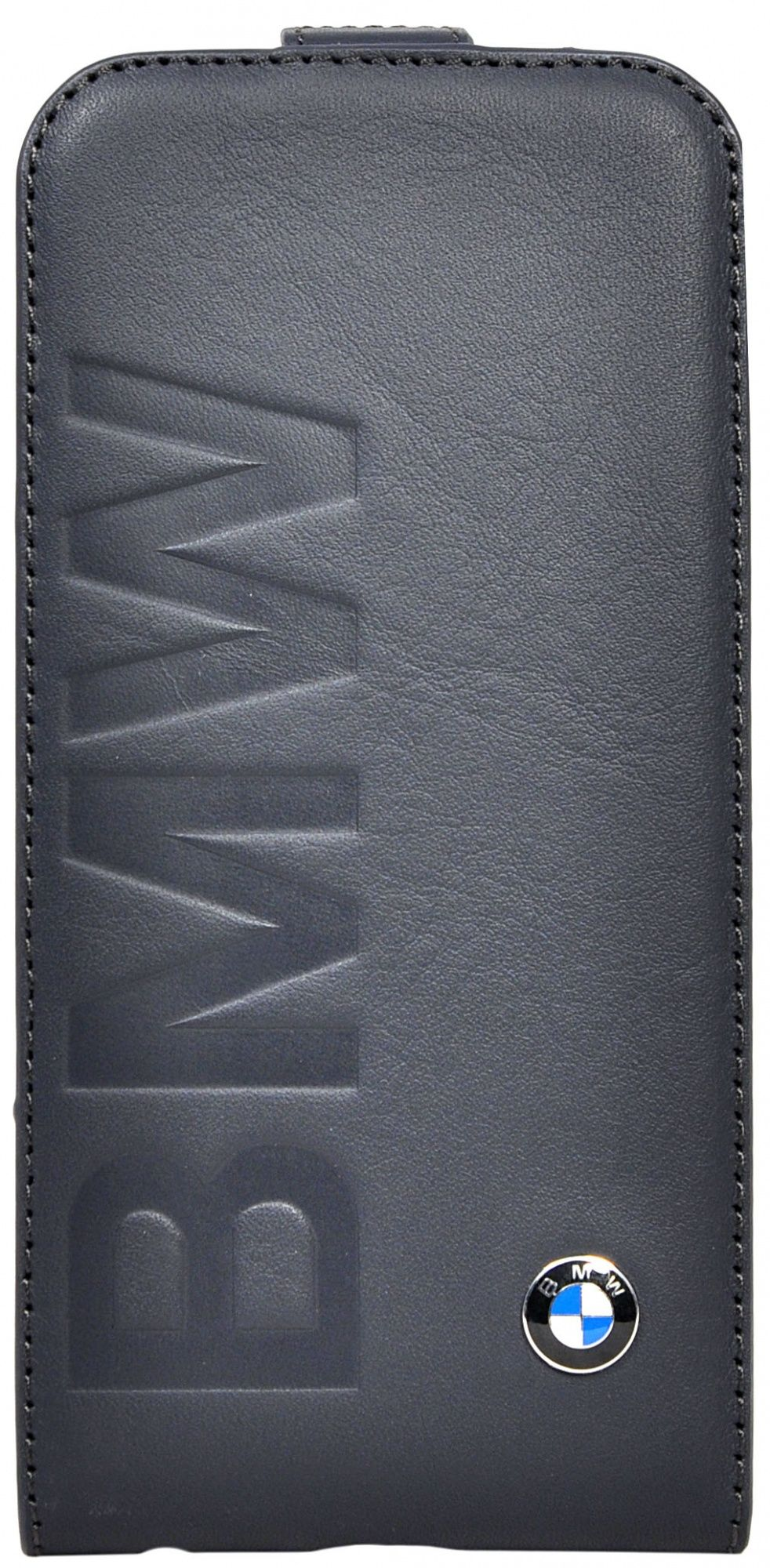 BMW iPhone 6 Logo Signature Flip - Navy, картинка 1