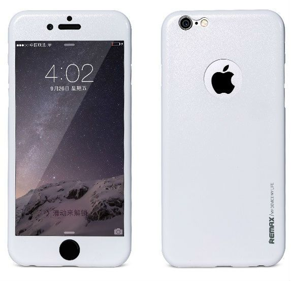 REMAX iPhone 6/6S Apple Skin - White, картинка 1