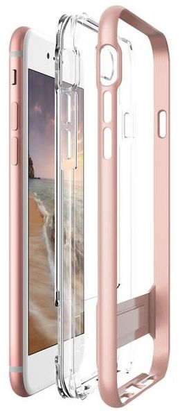 VERUS Чехол iPhone 7 Plus Crystal Crystal Bumper Rose Gold, картинка 4
