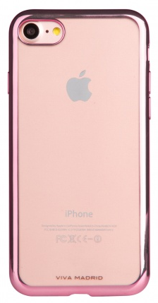 VIVA iPhone 7 Metalico Flex Case TPU Pink, картинка 2