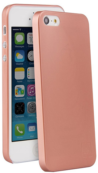 Чехол Uniq Bodycon iPhone SE/5S Ultra Slim 0.3 - Rose Gold