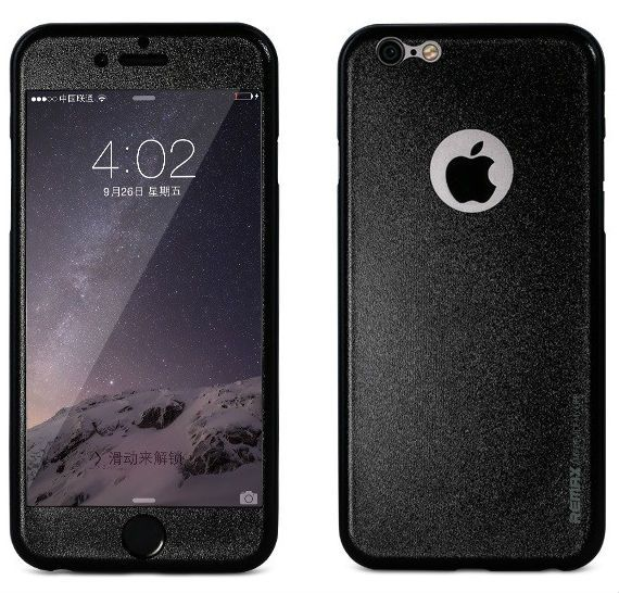 REMAX iPhone 6/6S Apple Skin - Black
