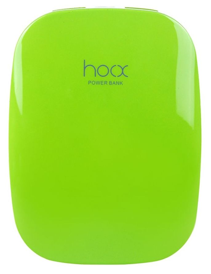 Hoox Magic Stone 6000mAh 2 USB - Green