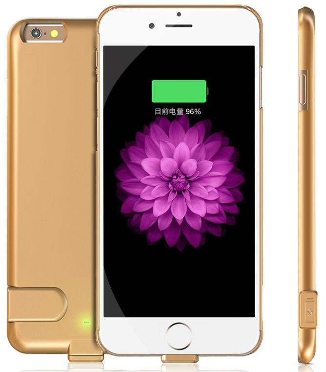HEDDY для iPhone 6 Battery Case 1500mA - Gold, картинка 2