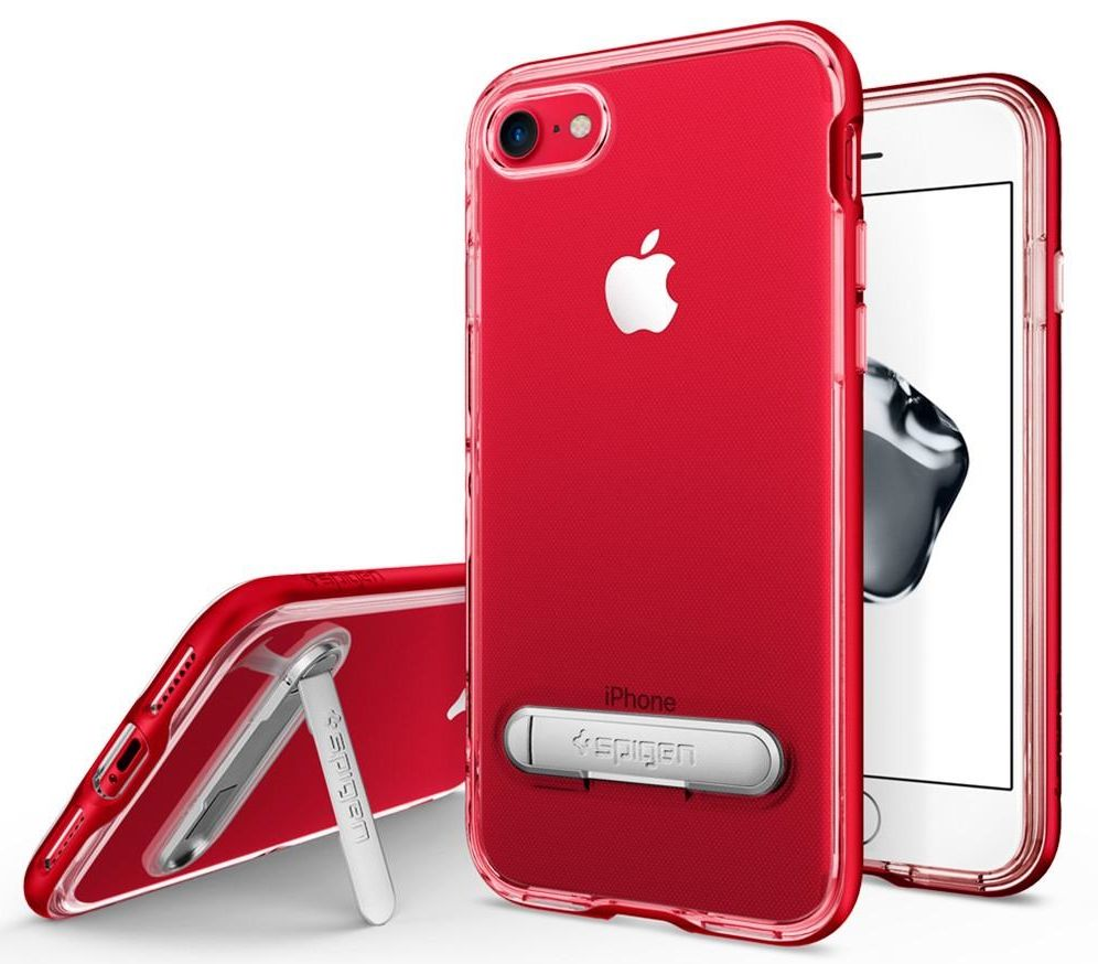 SGP Чехол iPhone 7 Crystal Hybrid Dante Red, картинка 1