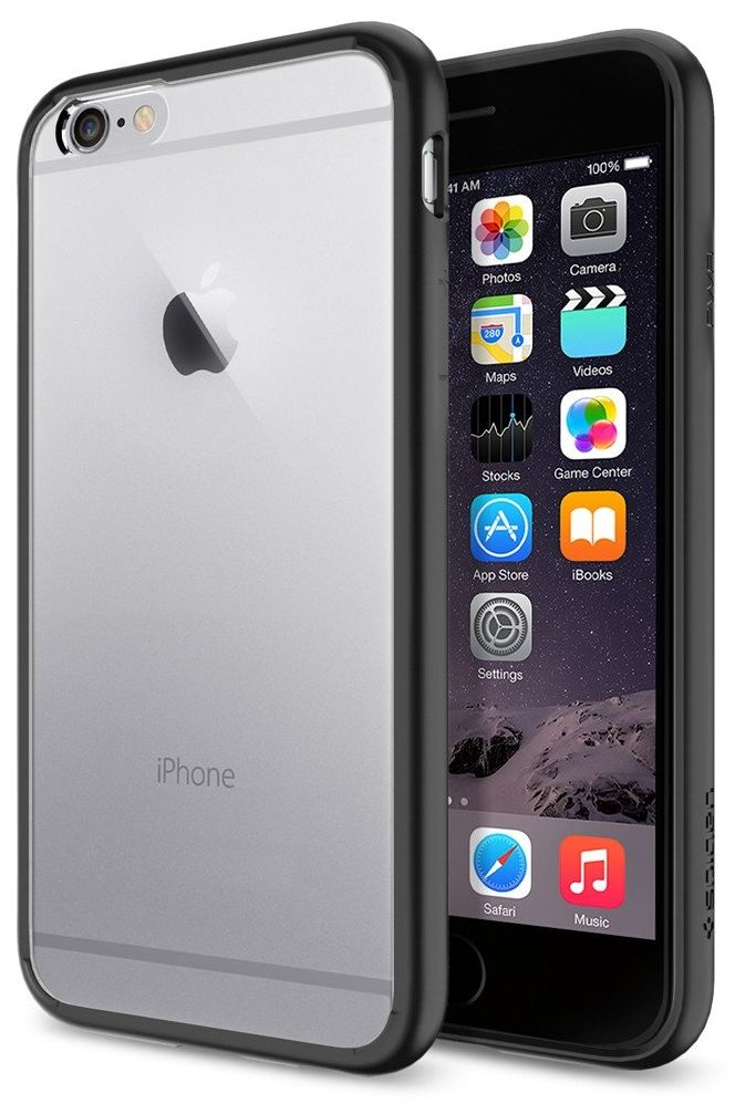 SGP iPhone 6S Ultra Hybrid (PET) - Black