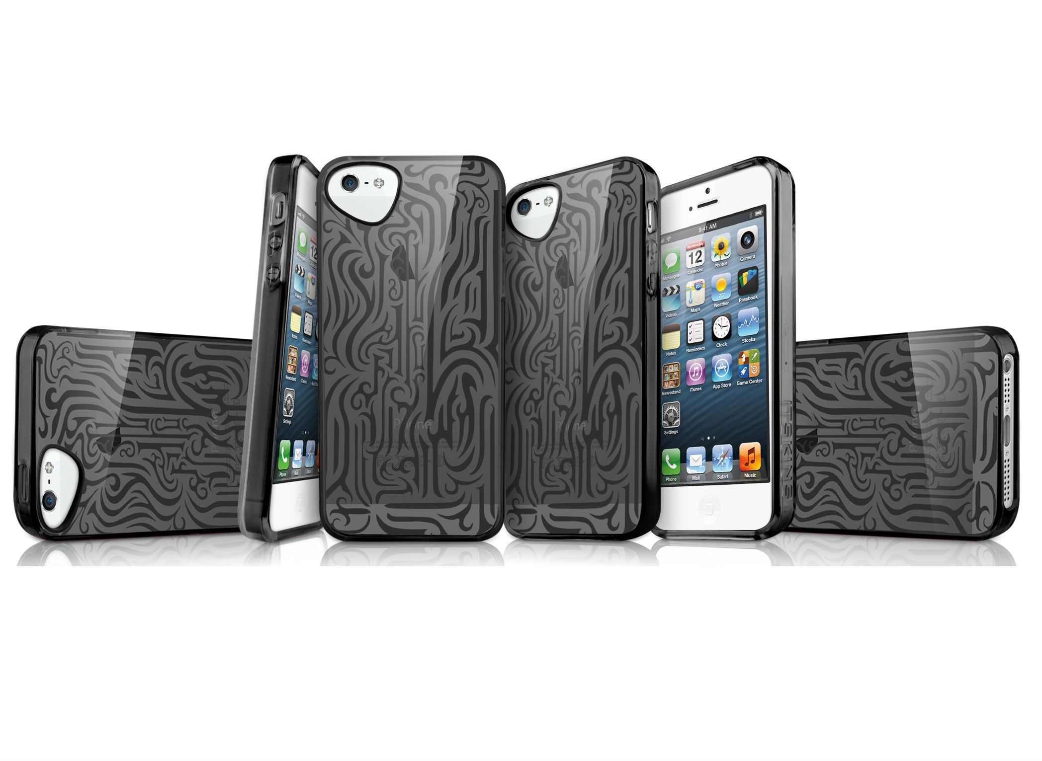 ITSkins Ink case 5/5S - Black, картинка 2