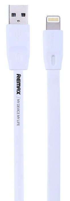 REMAX Full Speed Lightning Cable 1.0m - White, картинка 1