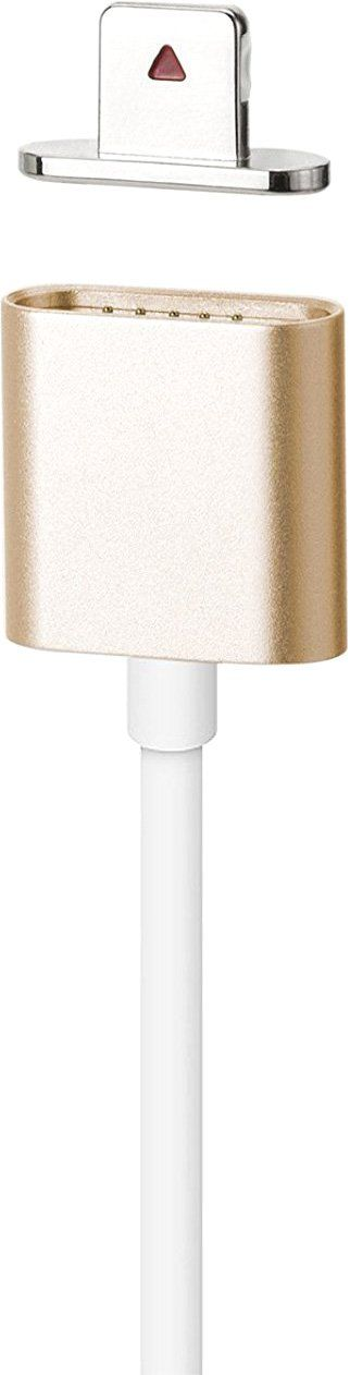 Moizen Magnetic Charging Cable Lightning - Gold, картинка 1