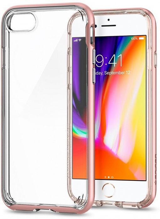 SGP Чехол iPhone 7/8 Plus Neo Hybrid Crystal 2 Rose Gold