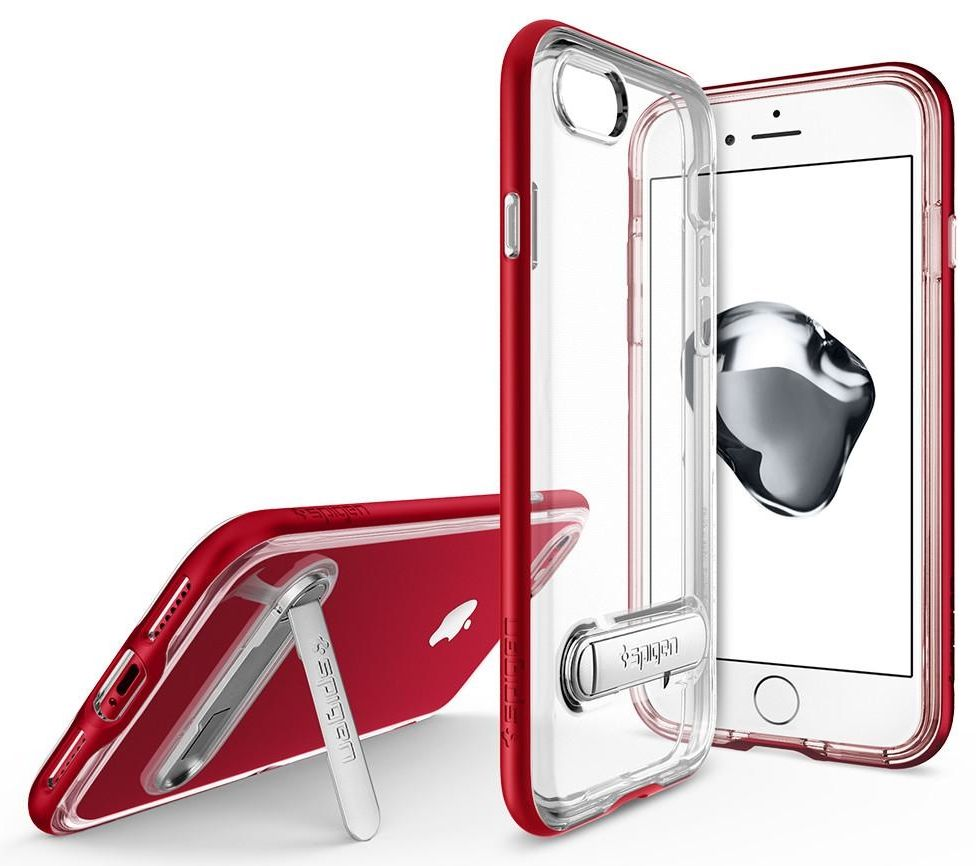SGP Чехол iPhone 7 Crystal Hybrid Dante Red, картинка 2