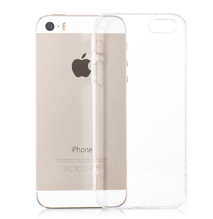Силиконовый чехол HOCO iPhone 5/SE Light Series TPU - Clear